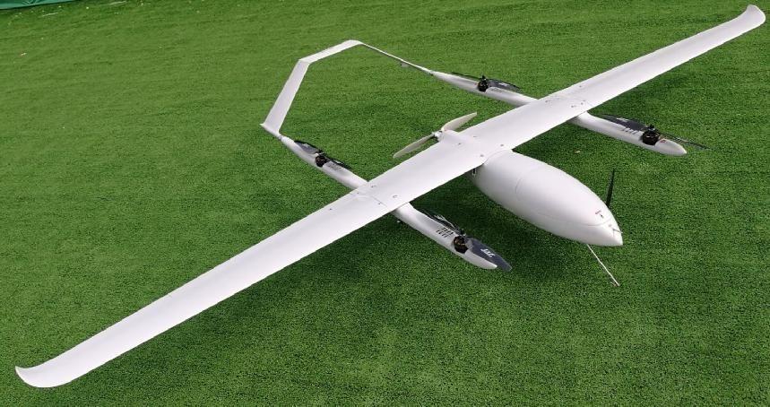 Fixed Wing VTOL Surveillance UAV - Drone | Icarus Drone Services