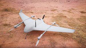Sparrow Flying Wing VTOL UAV